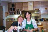 Our First Brave Cooks, Sheryl and Marian 1/15/02